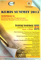 Keris Summit 2015 Simposium